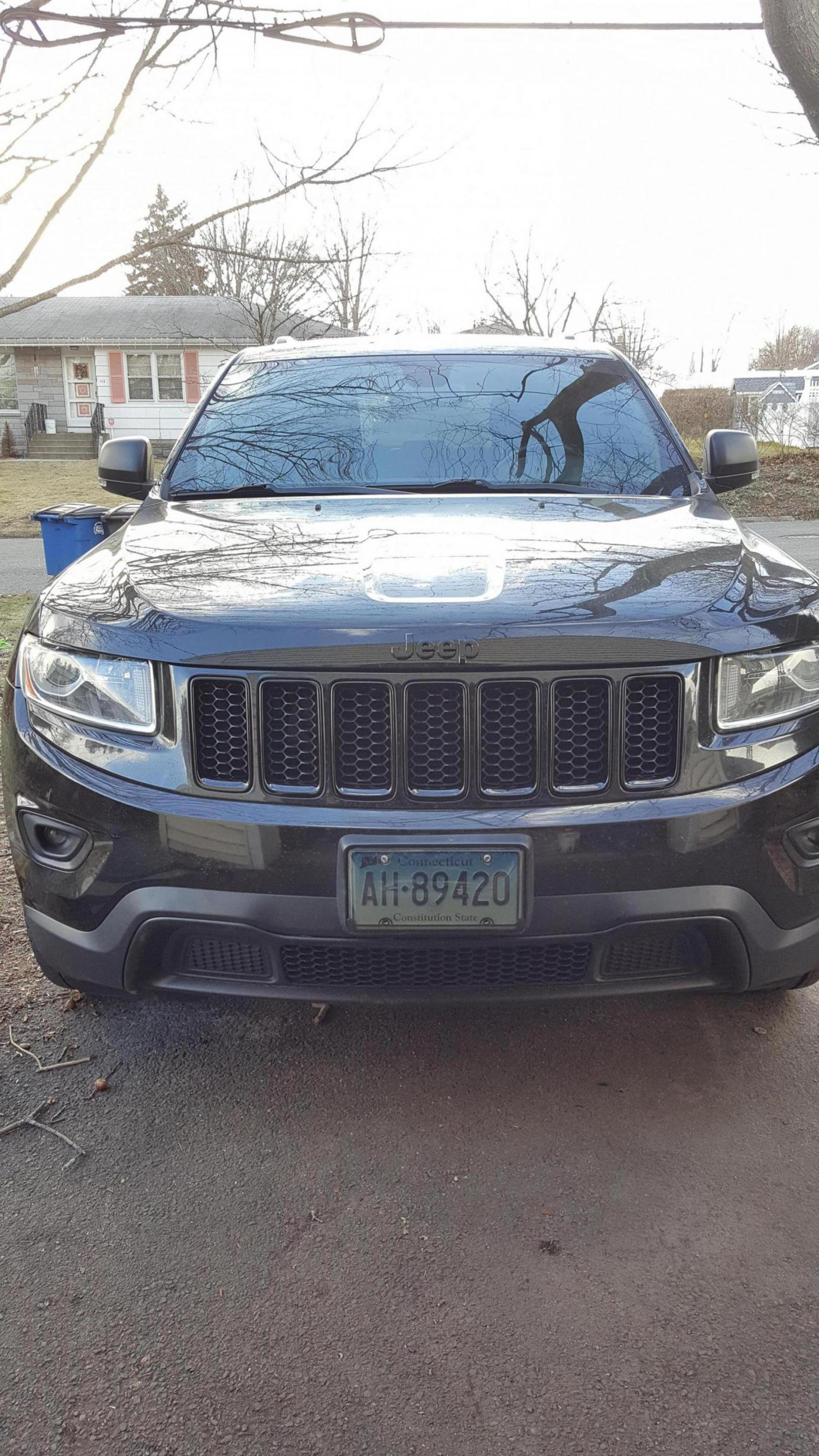 2015 Limited Grill Insert Swap To Black Honeycomb Jeep Garage Jeep Forum
