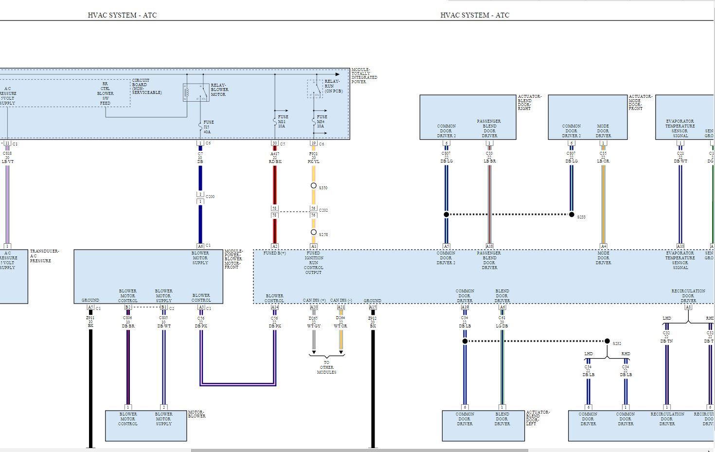 Furnace Wiring Diagram For Blower Motor from www.jeepgarage.org