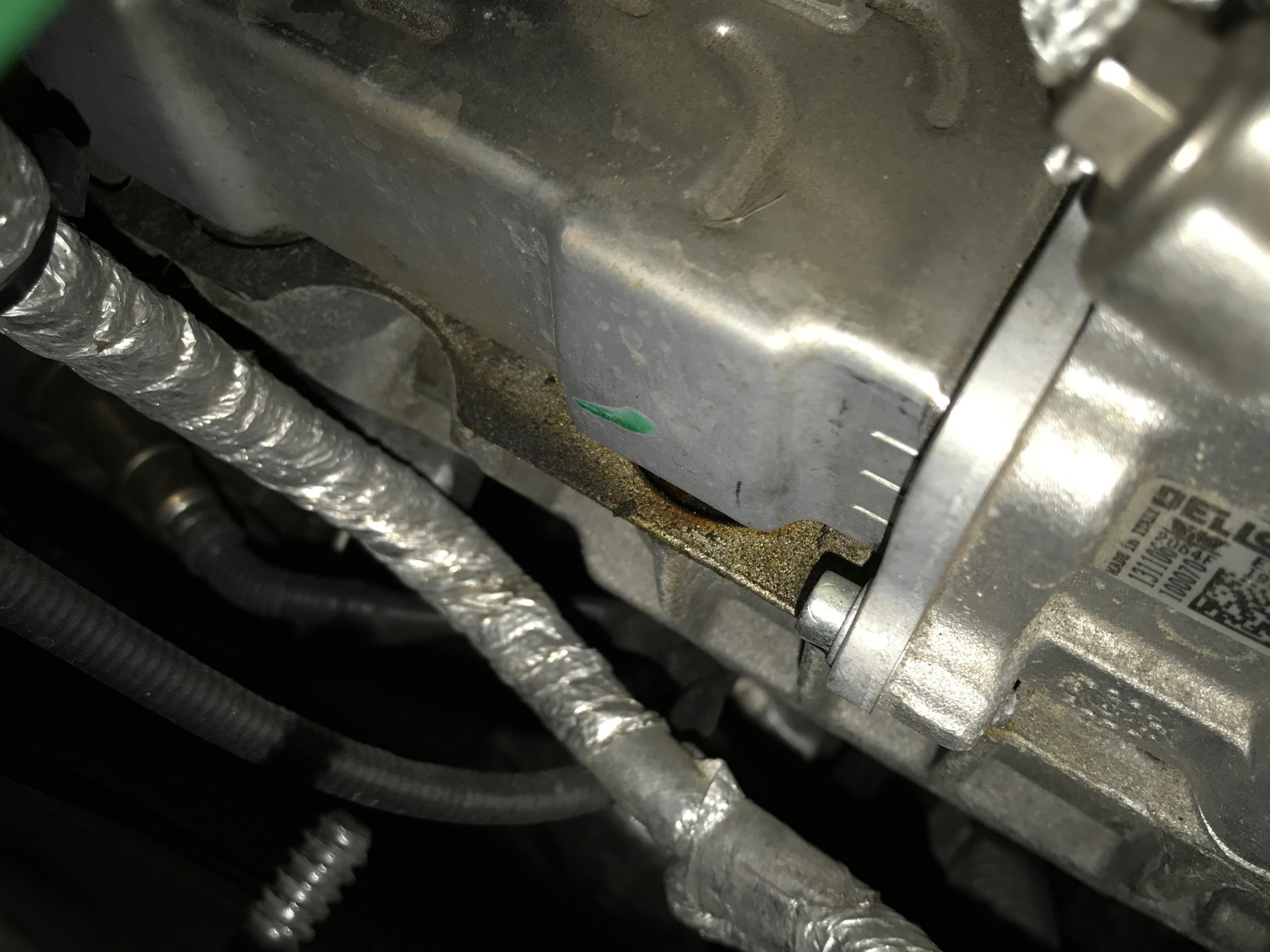 Egr Leak Coolant Sludge A Code And Pictures Jeep Garage