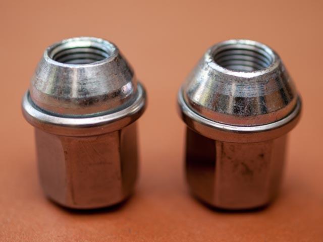1//2 Thread Size Gorilla Automotive 96187SS Duplex Acorn Stainless Steel Lifetime Lug Nuts
