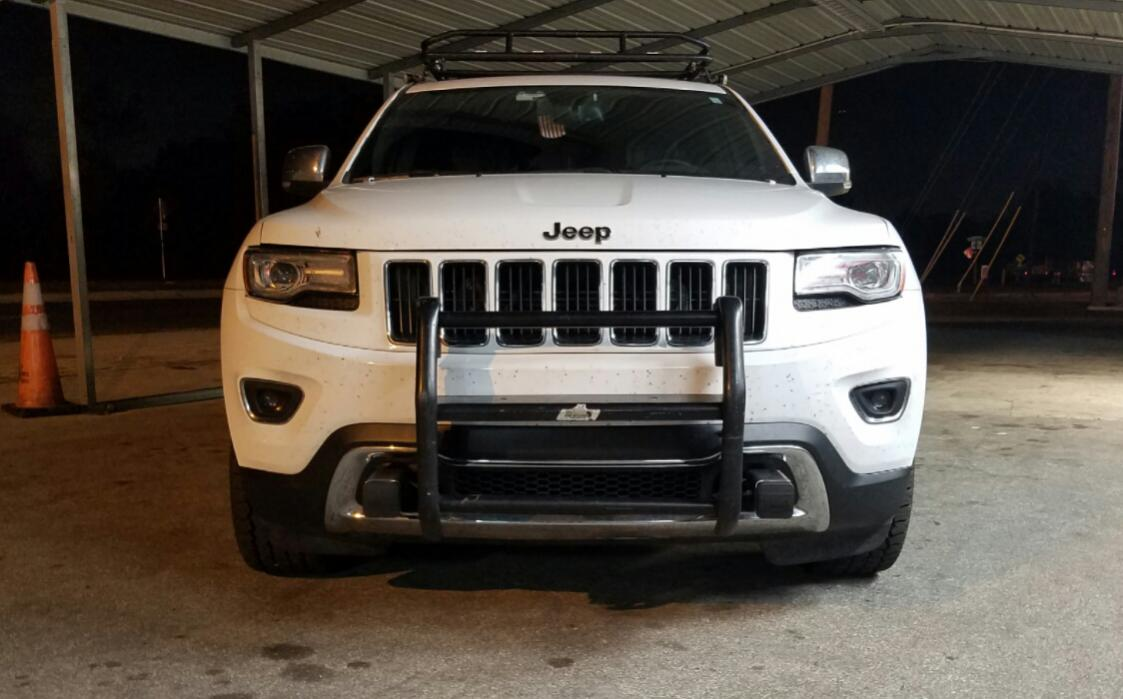 Wk2 Front Push Bumper Brush Guards And Bash Plate Jeep Garage Jeep Forum