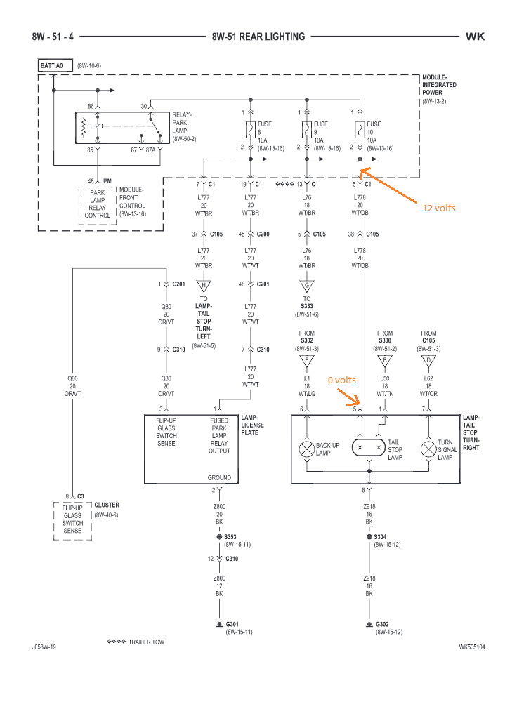 Tail Light Wiring Harness 2006 Grand, 2005 Jeep Grand Cherokee Tail Light Wiring Diagram