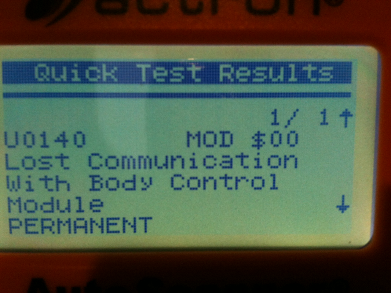 U0140 Lost Com's with BCM ?? | Jeep Garage - Jeep Forum