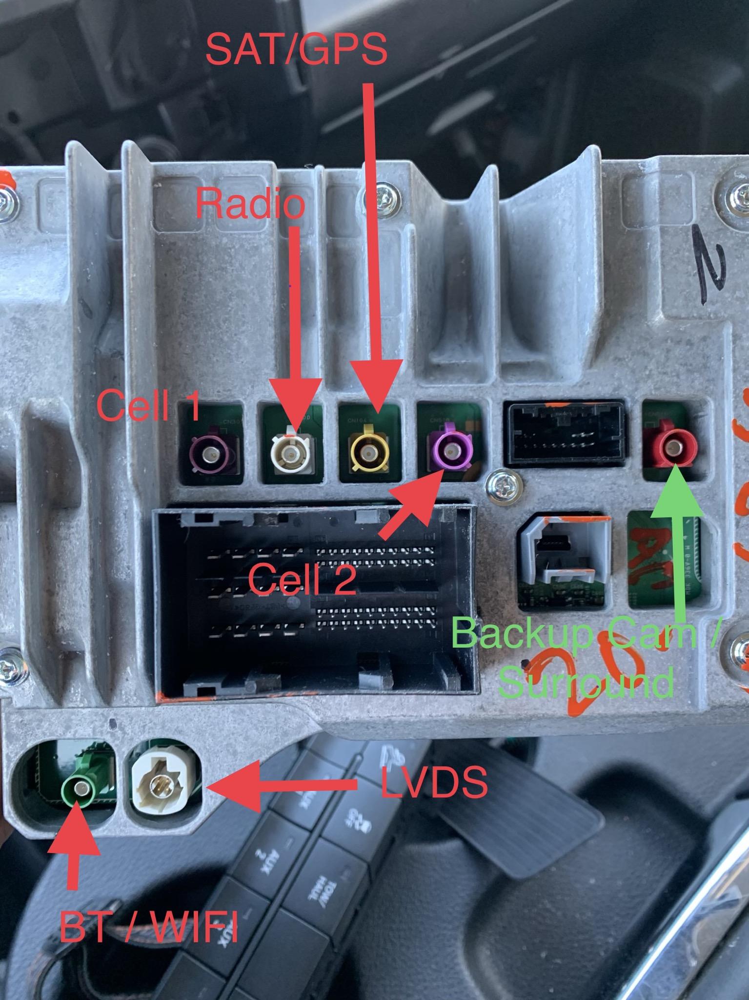 harman vp4 gps radio uconnect 8.4 wiring diagram   jeep garage - jeep forum  jeep garage