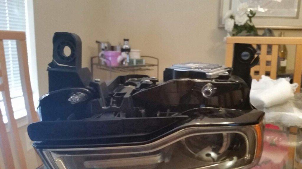 Fixing broken Headlight Tabs | Jeep Garage - Jeep Forum
