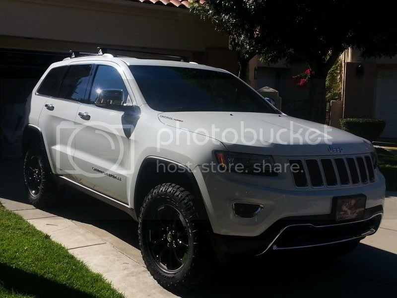 2014 Diesel, bright white, ORAII+wheels and tires | Jeep