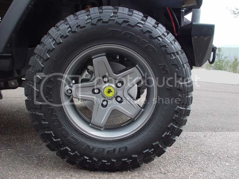 Should I stick with the stock rims? | Jeep Garage - Jeep Forum