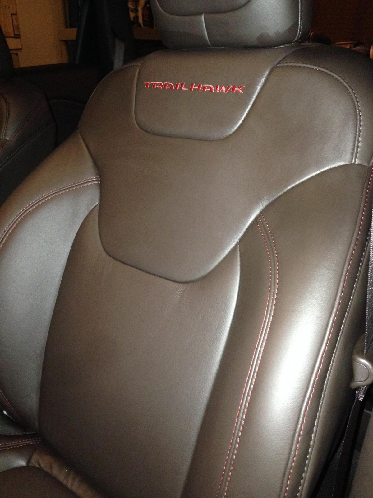 2014 Trailhawk - Brown Seat