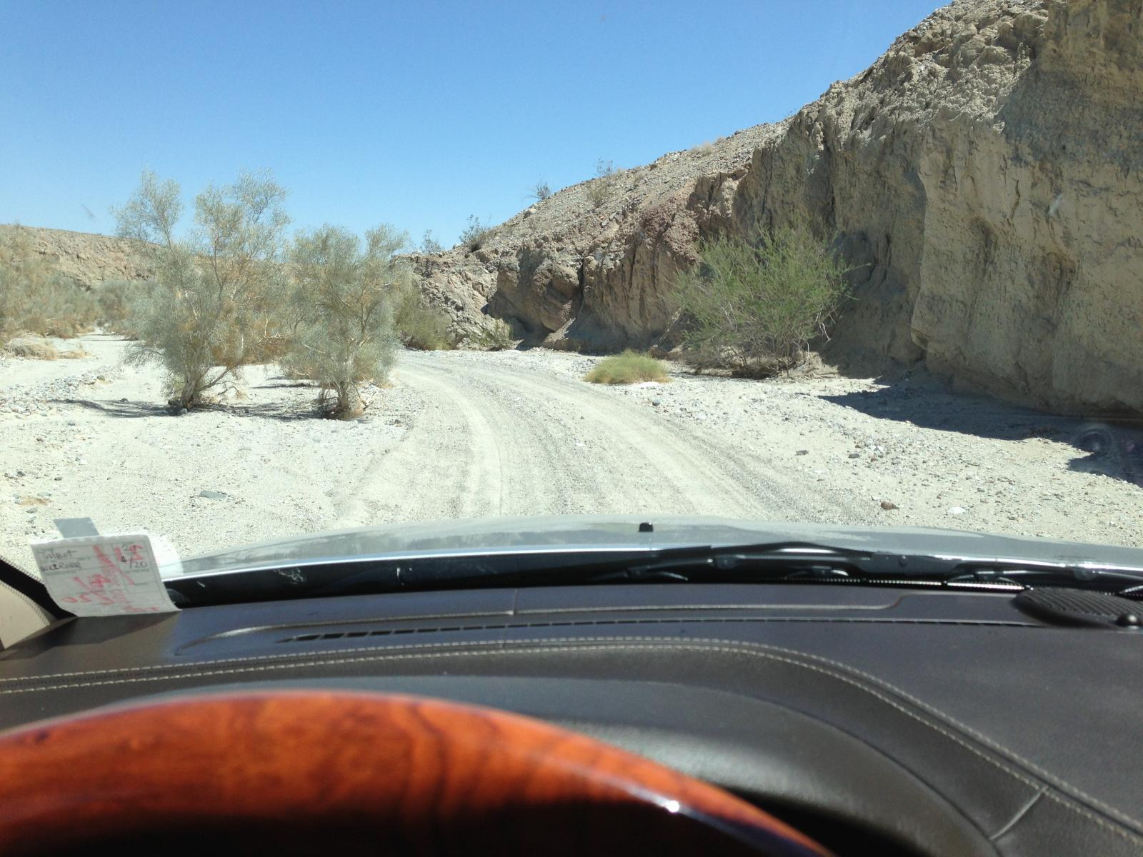 Anza Borrego - 4WD trail to Seventeen Palms