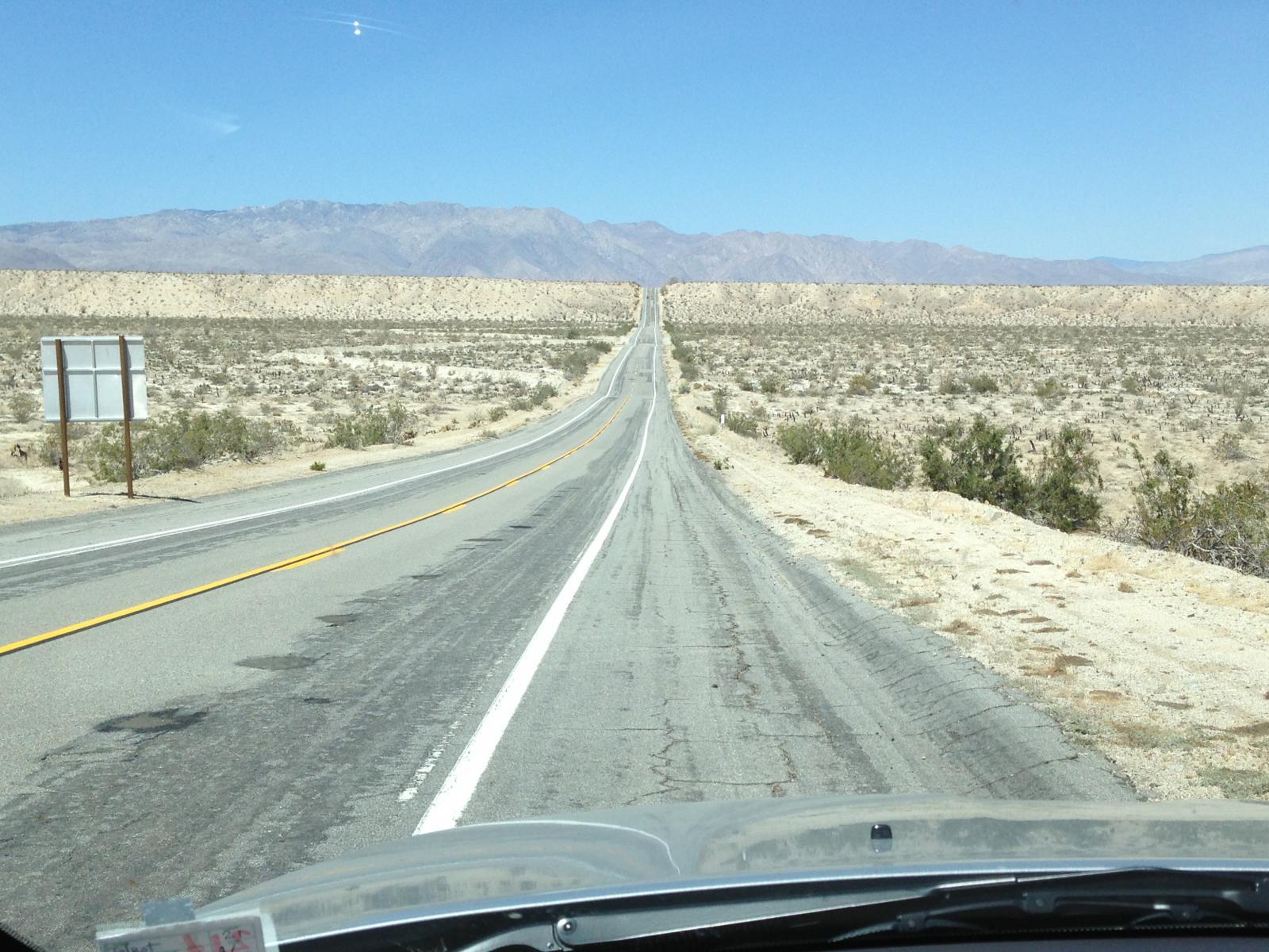 Anza Borrego - Open Road