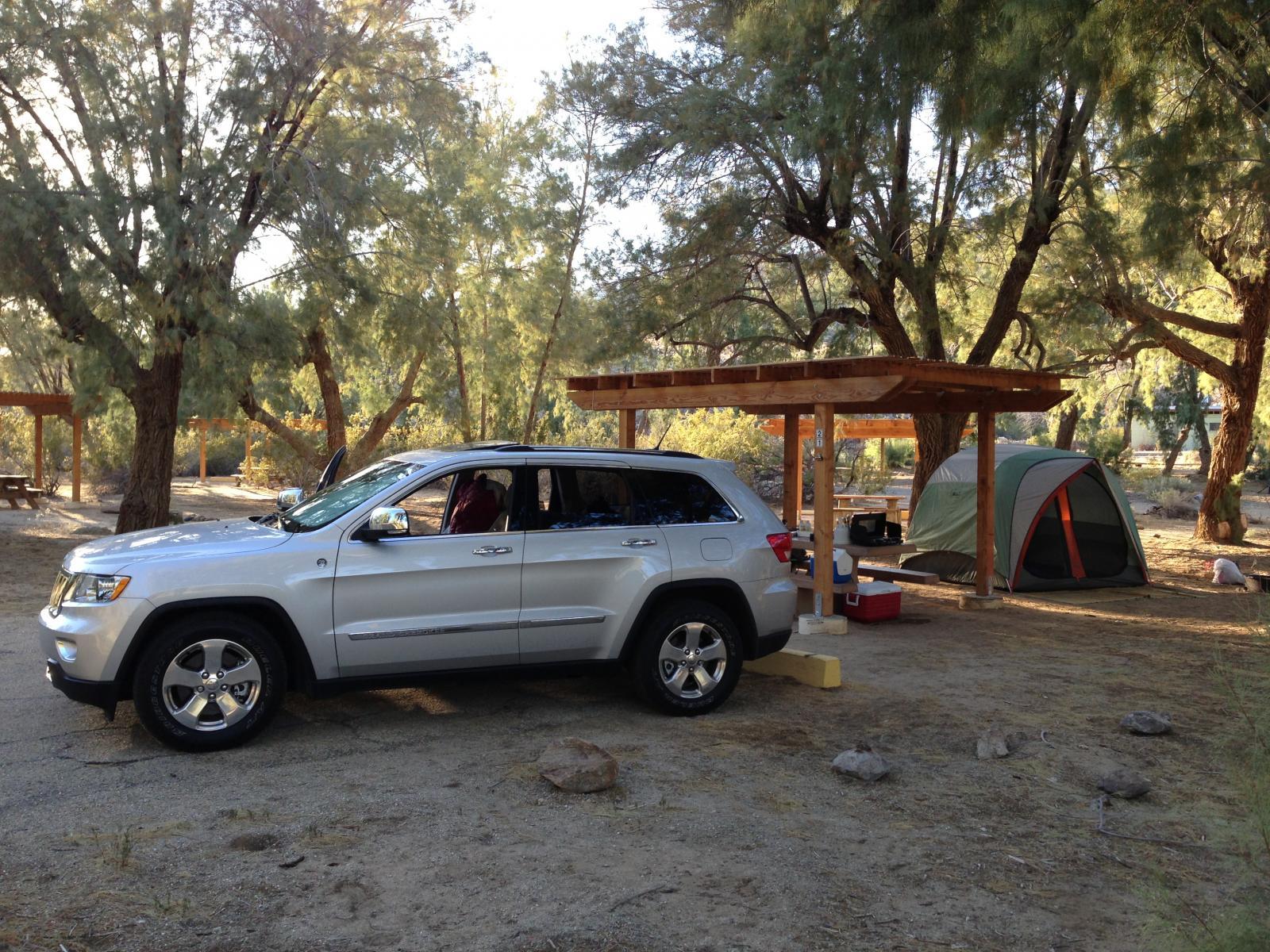 Anza Borrego - Tamarisk Grove camping