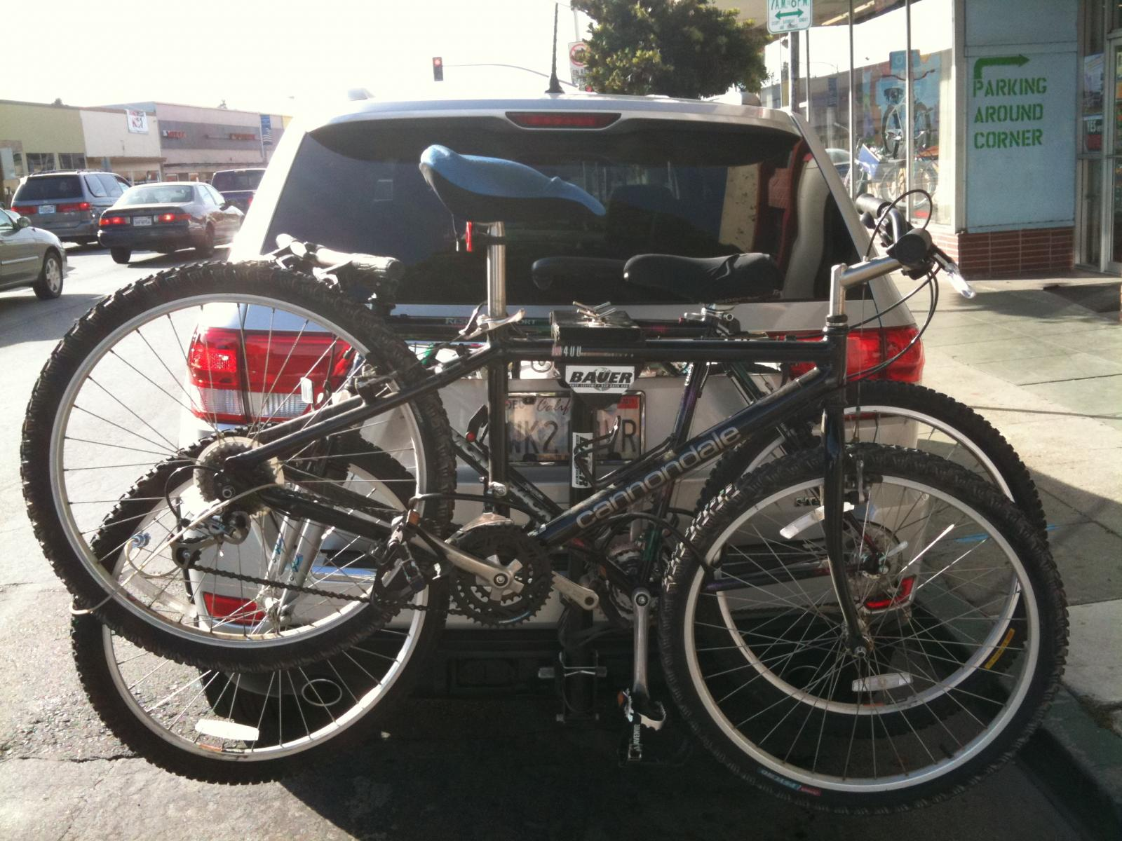 Bike rack from '93 Grand Cherokee