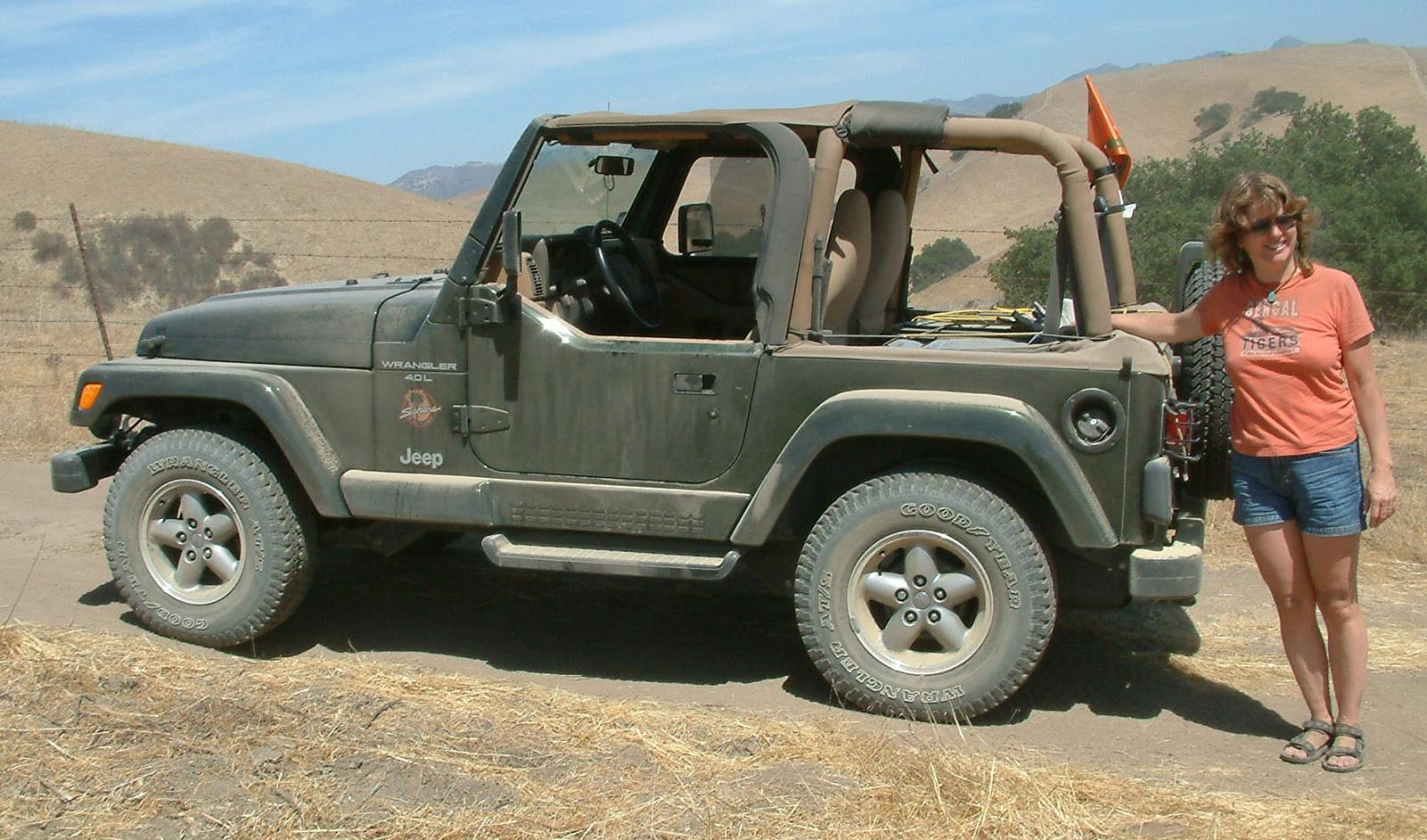 Camp Jeep near Santa Barbara, California