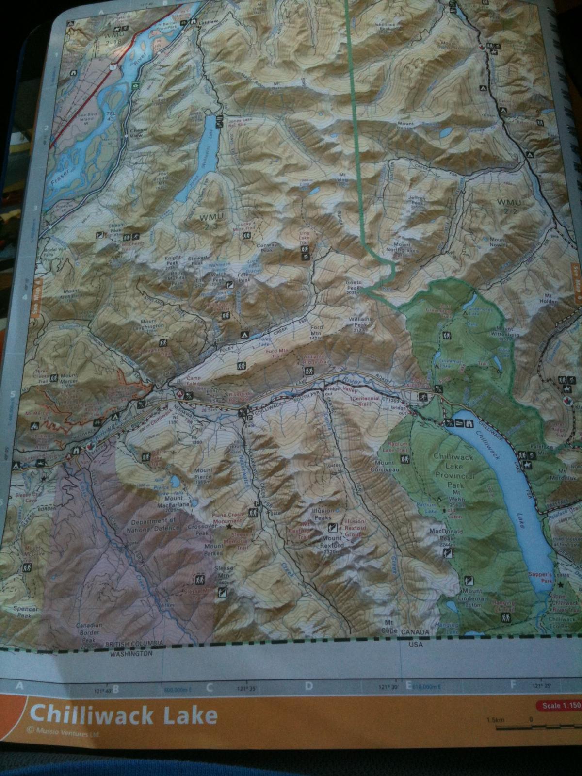 Chilliwack Forest Roads