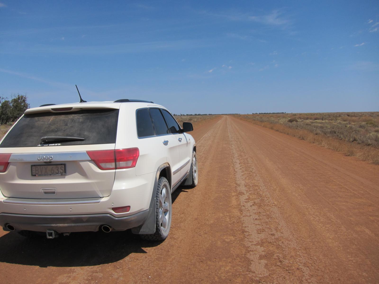 Headed towards Broken Hill....Aero mode all the way...