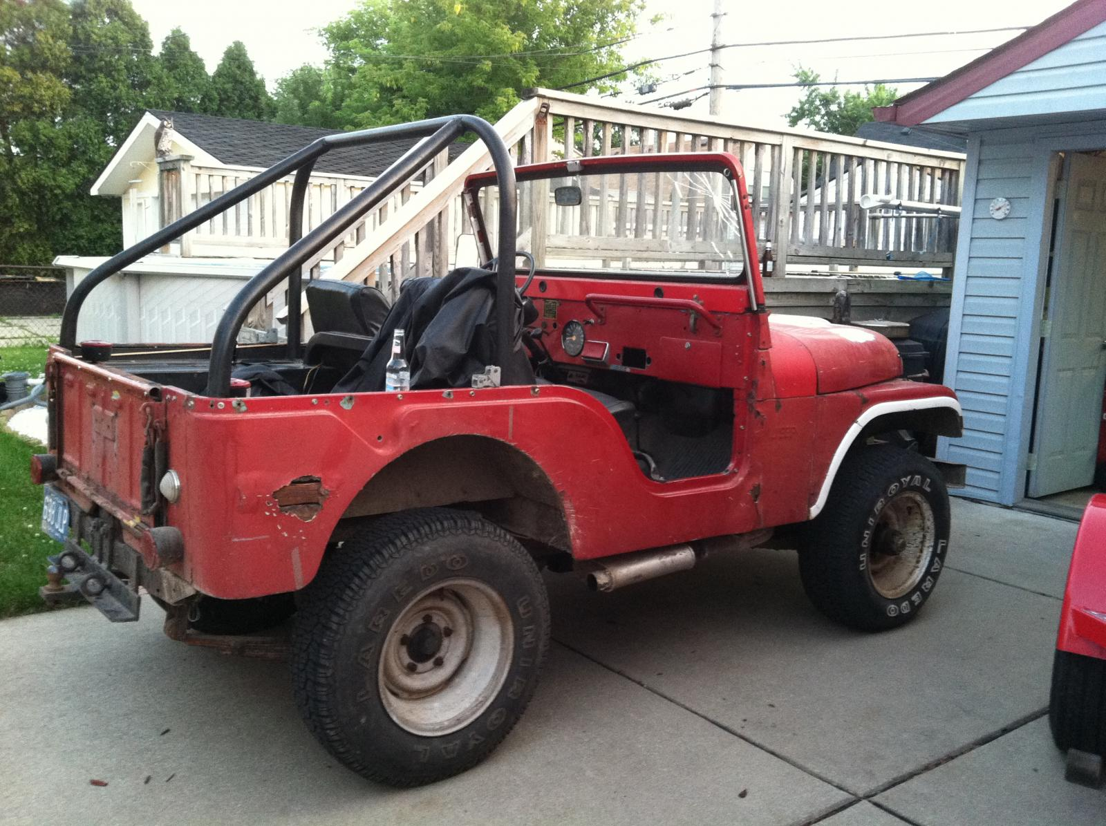 One of my other jeeps. 69 cj5. Built motor.