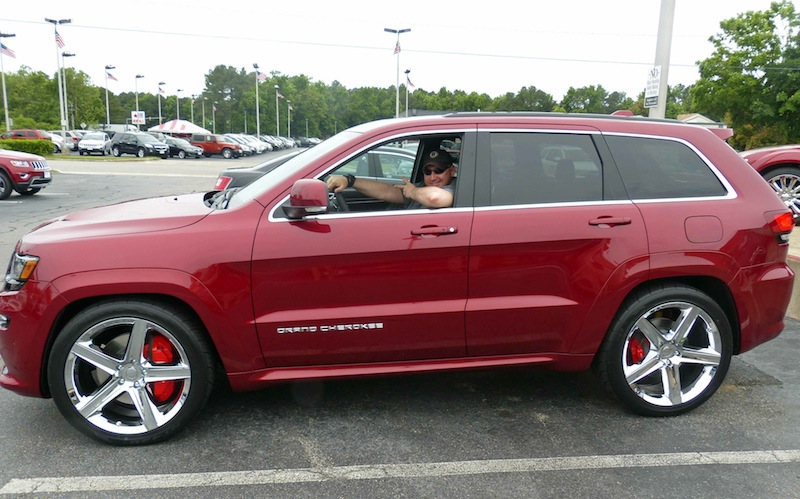 Picking up my new 2014 Jeep GC SRT...with installed mods: