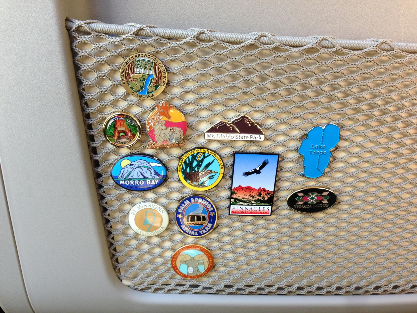 Pins from WK2 destinations
